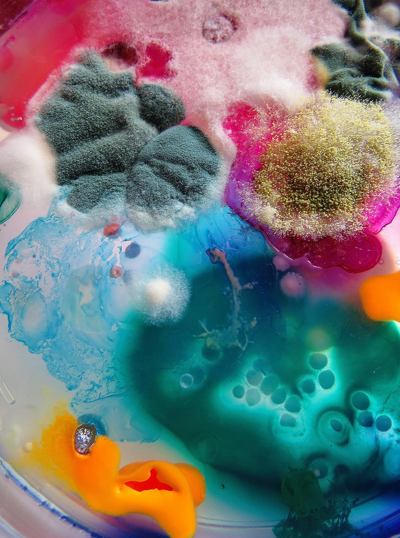 abstraction alternative art background Bacteria bio biology colorpalette   colours design FINEART inspiration laboratory light molds newmedia pattern shade texture