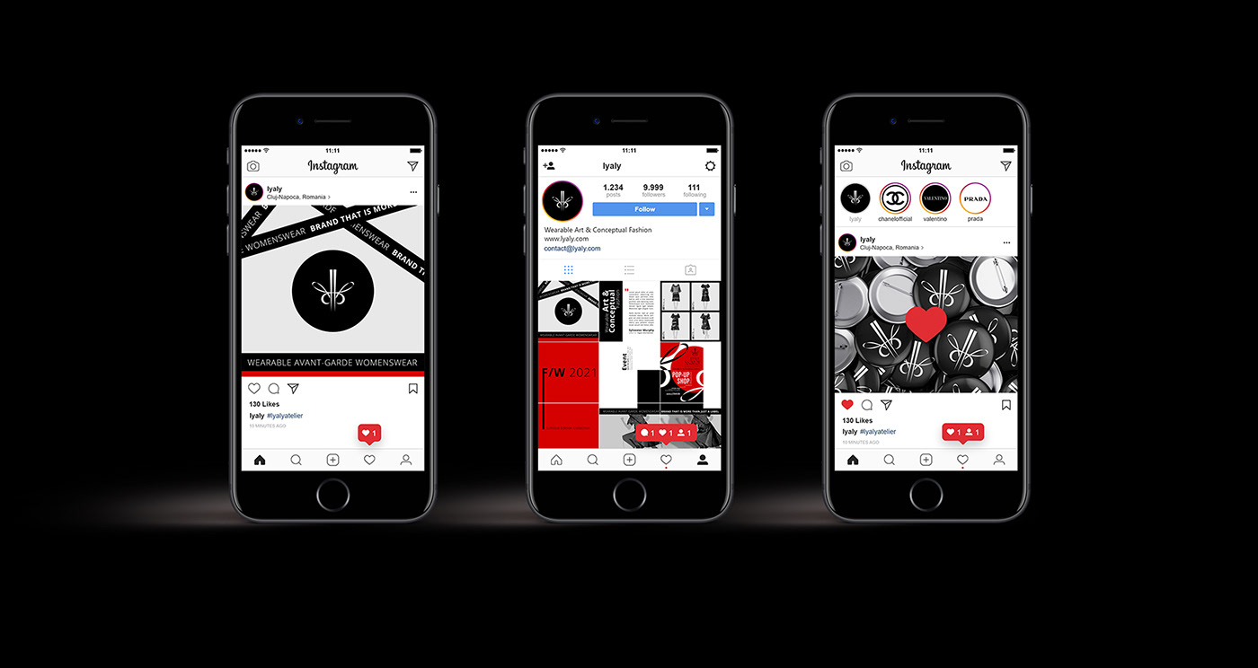 banner composition editorial Fashion  graphic design  instagram instagram feed Instagram Post social media typography