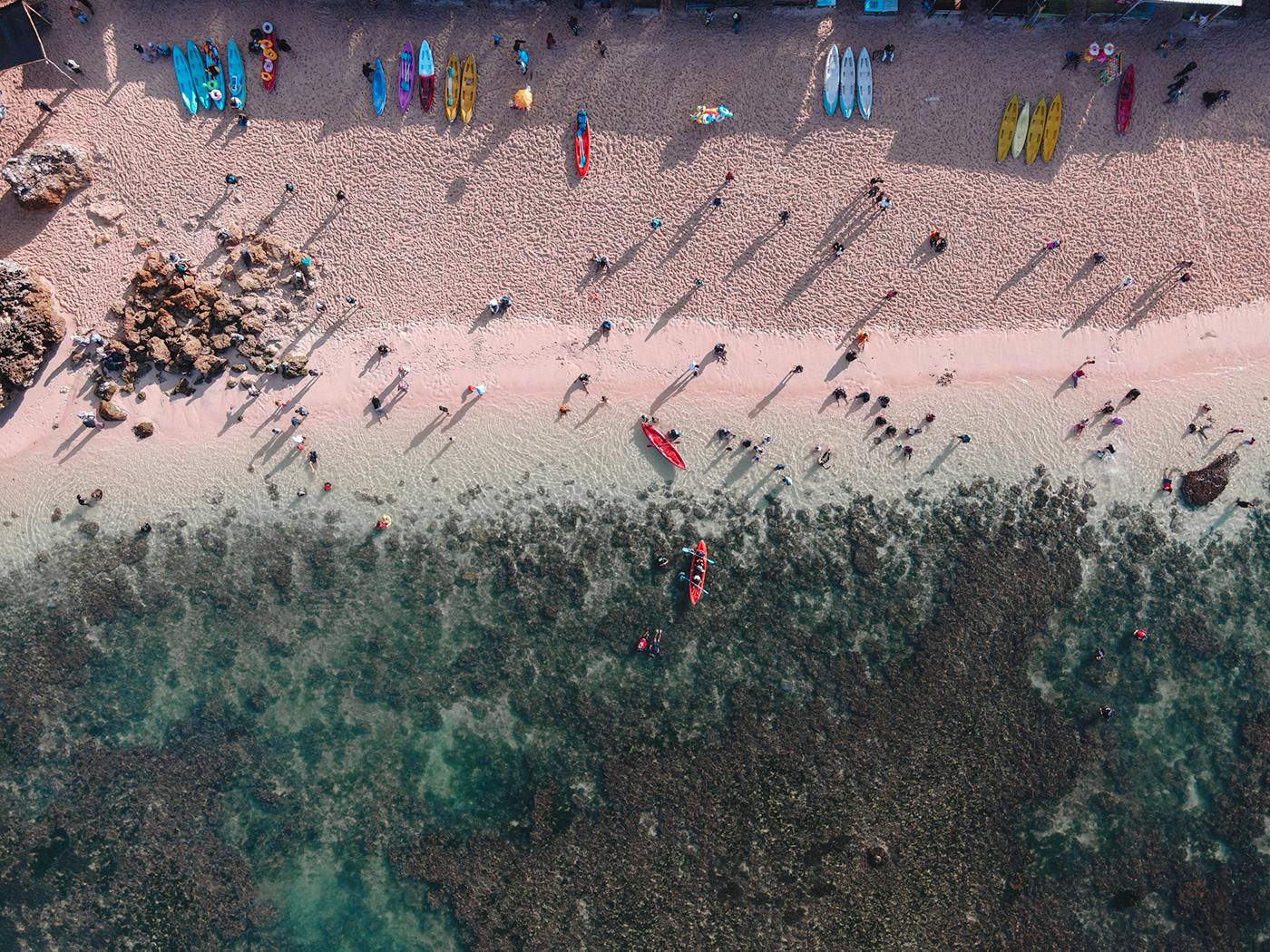 Aerial photo stock photo drone indonesia