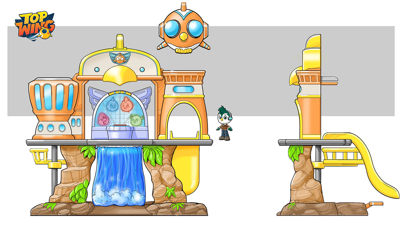 toy industrial design  playsets sketches concepts