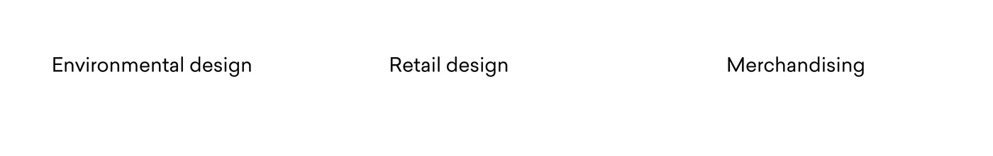 Retail interior design  store design