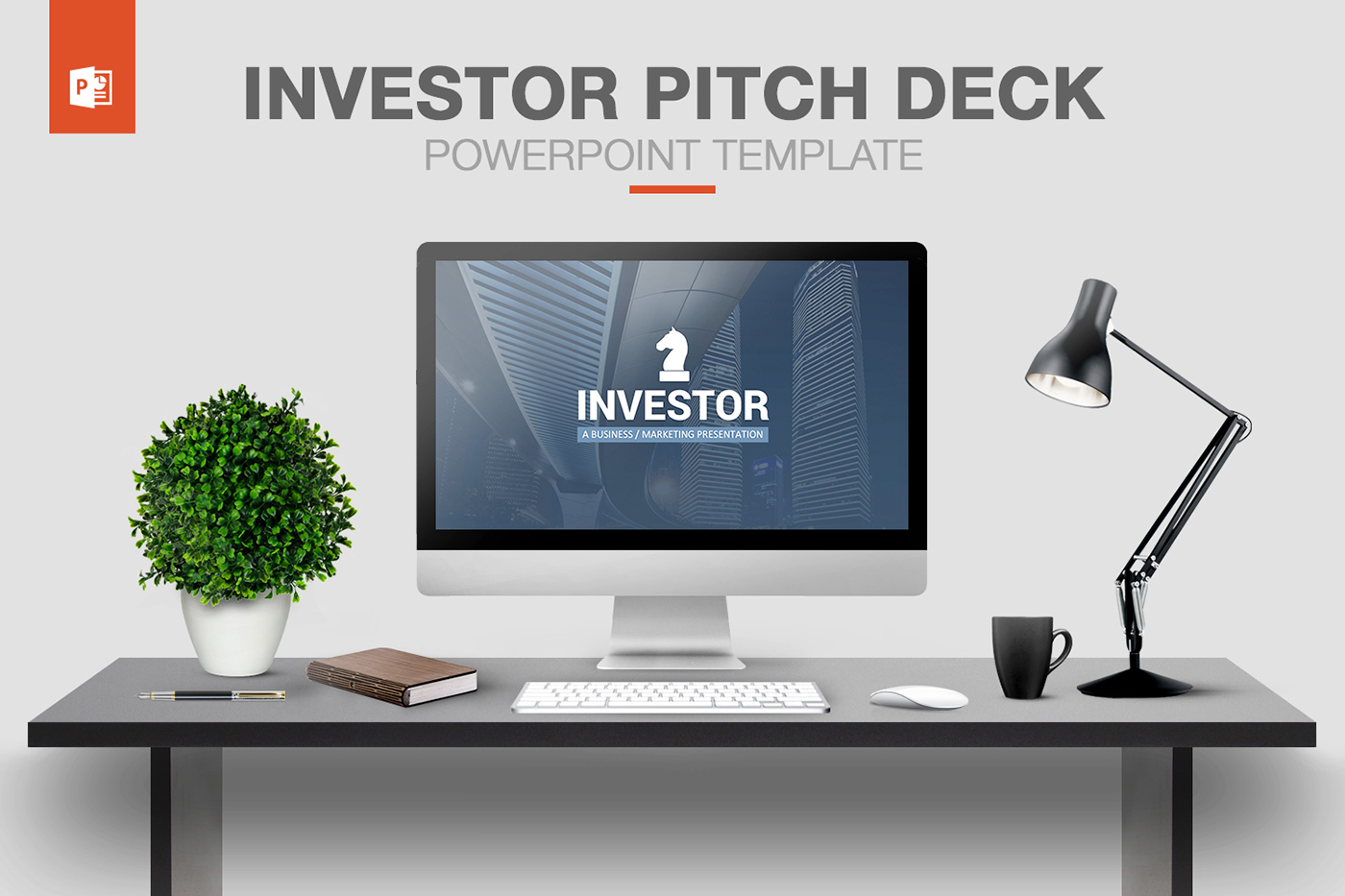 investor pitch deck powerpoint template on behance