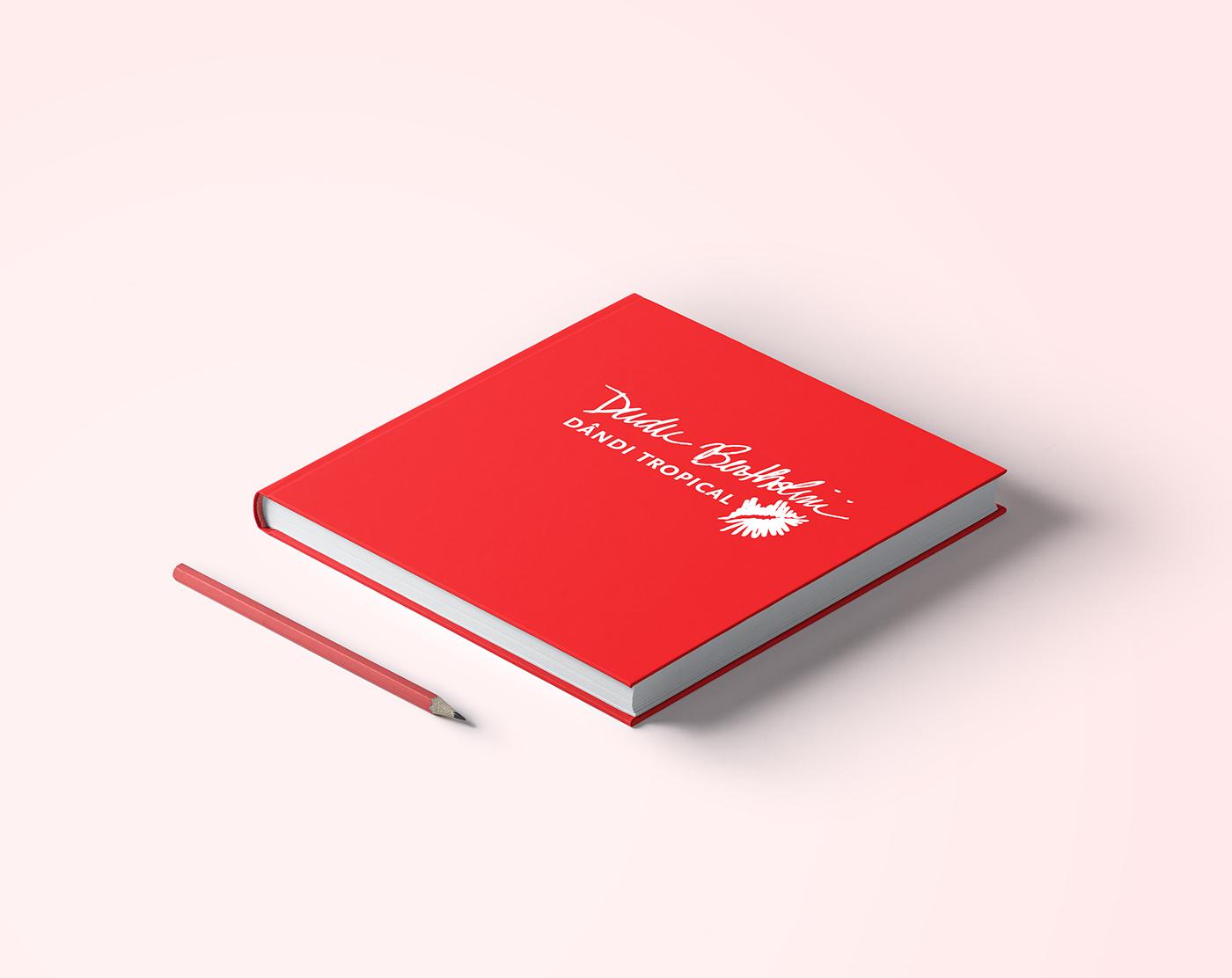 book graphic design  editorial book cover