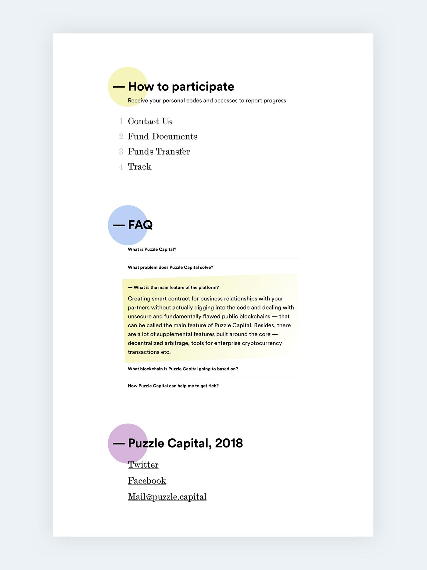 Website landing landing page gradient Fintech clean Clean Design Web