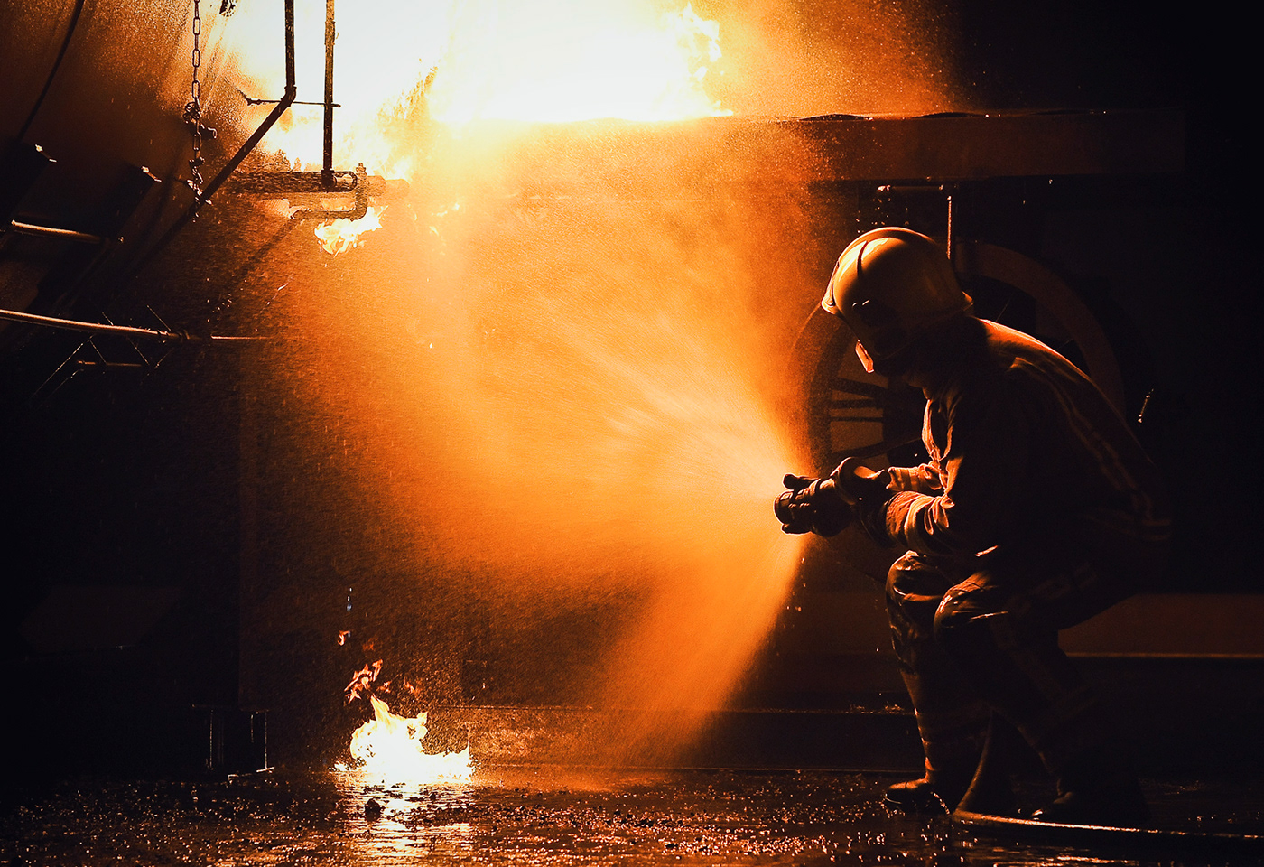 Casualty emergency fire journalism   Photography  training