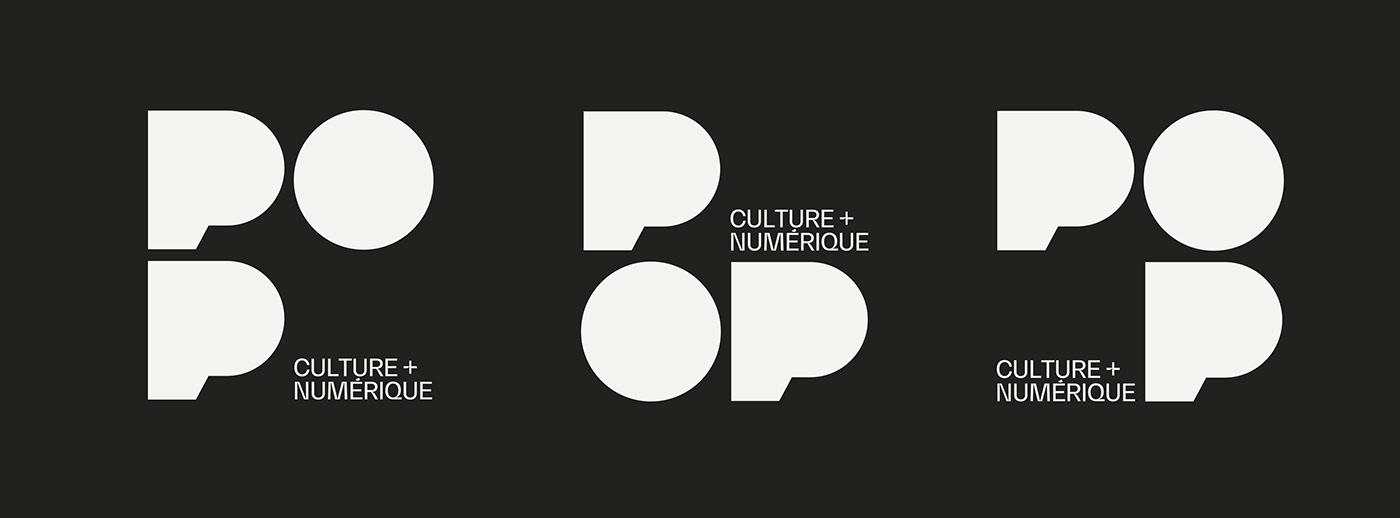 art direction  brand identity culture digital agency marketing   modular Montreal motion Poster Design