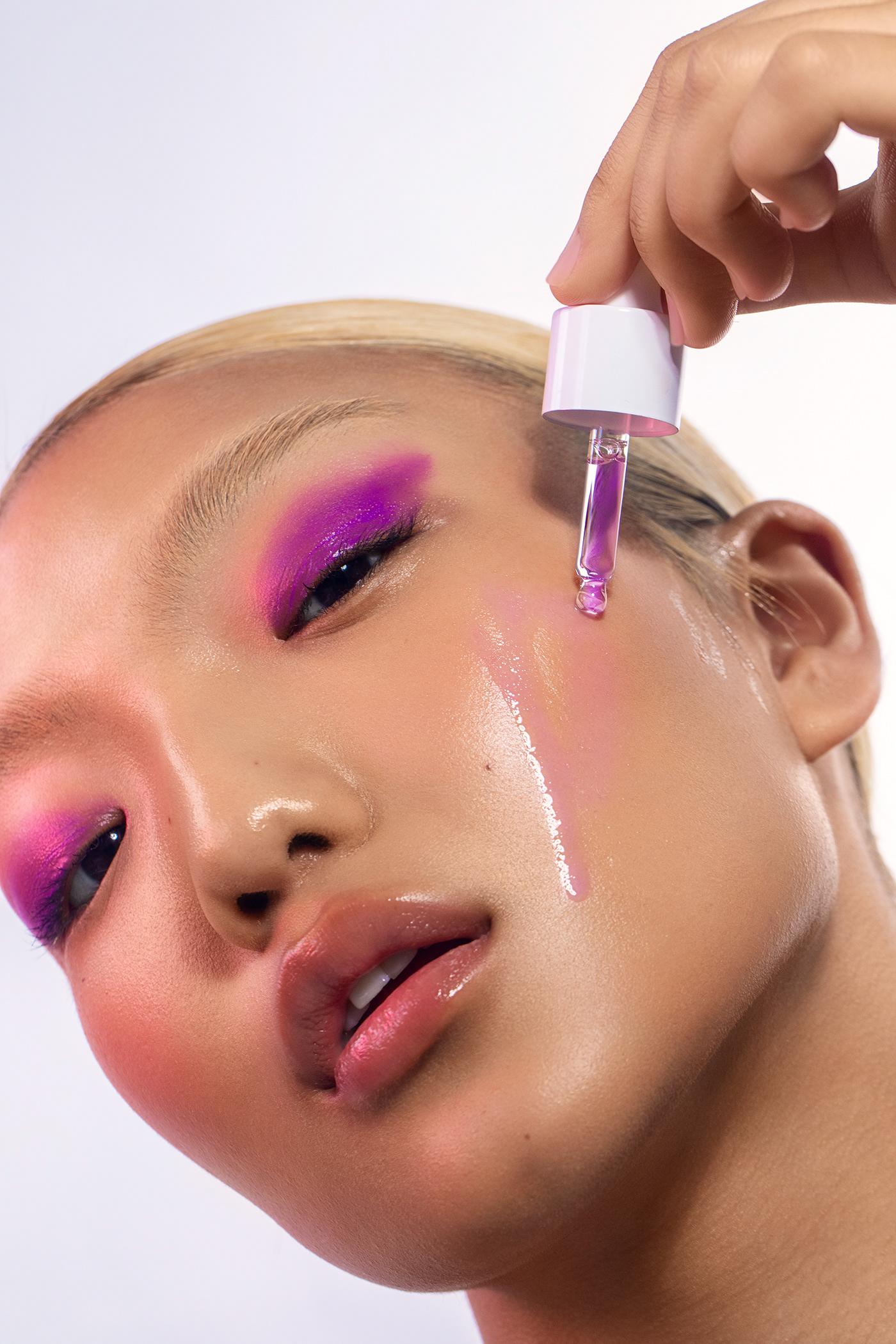 Advertising  beauty Beautyretouch  campaign editorial Fashion  makeup retouch retoucher retouching