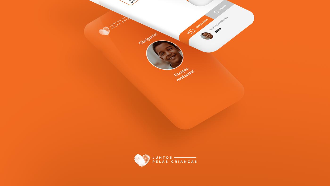branding  design graphic design  digital UI ux NGO charity ong interaction