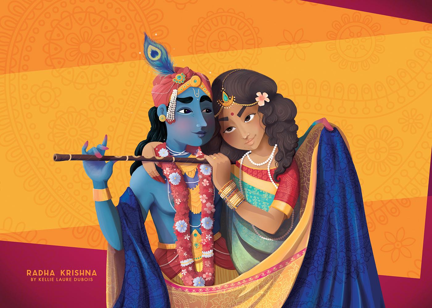 India krishna Radha hindou Diwali saint valentin colors religion story hale