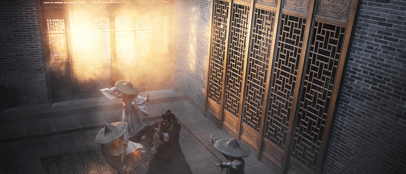 kung-fu china fenghuang zhangjiajie monk warrior Advertising  Shaolin mortal kombat