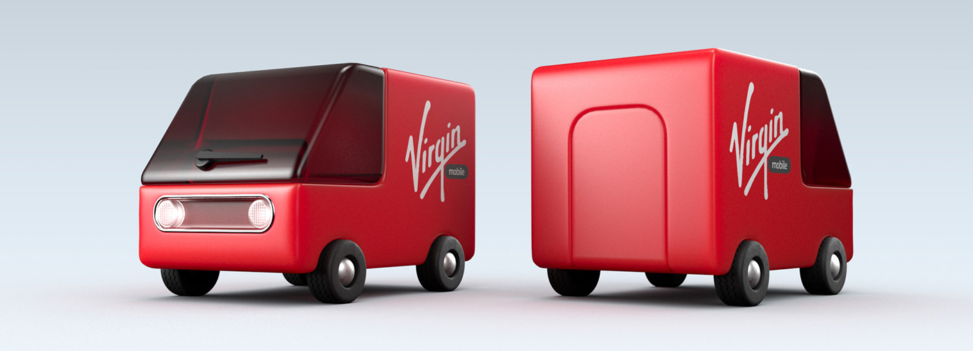 3D animation  CGI Internet Miagui mobile motion phone virgin