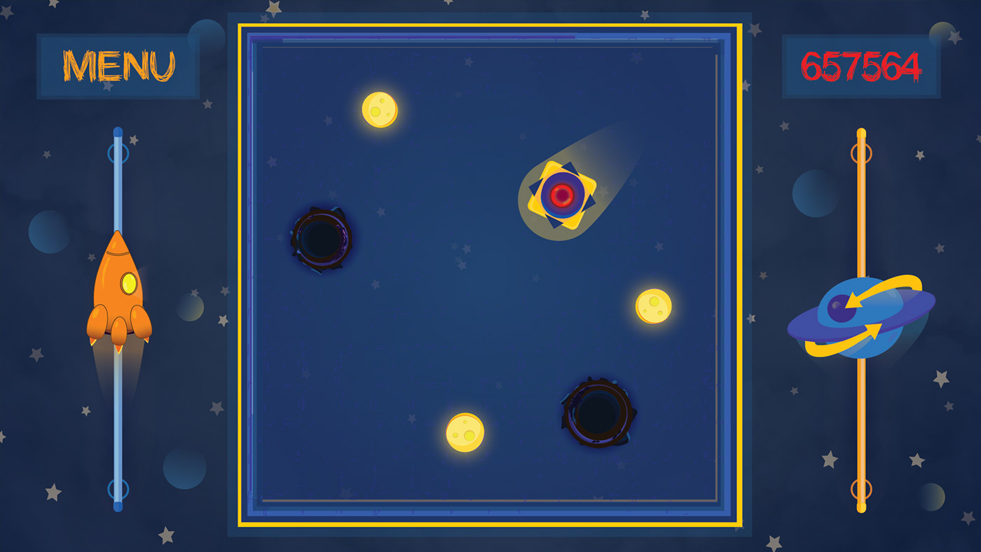 Angle-8 game Space  cosmic spaceship planet Birta Bivrest