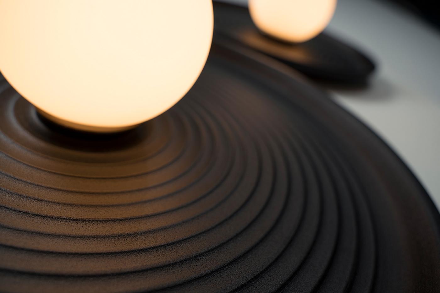 ceramics  ceramics design design Interior interior design  Lamp light lightroom trend ukrainian