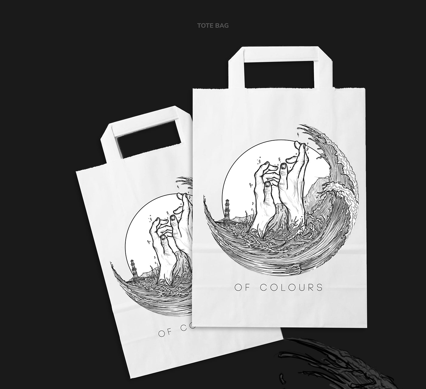 Of Colours // Tote Bag