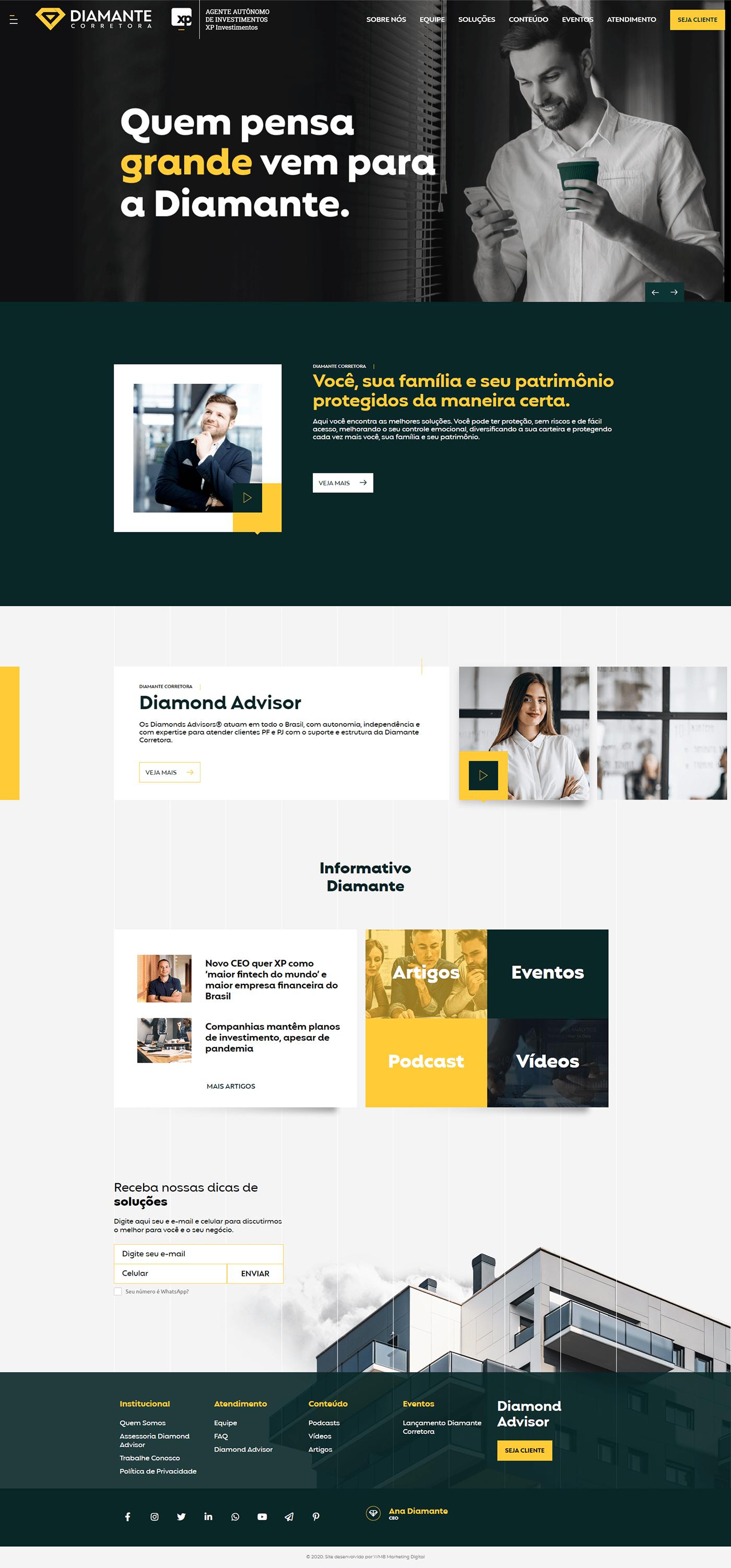 Corretora Seguros site xp XPInvestimentos