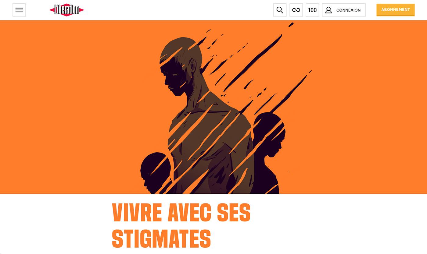 Liberation presse journal torture reportage Refugees Centre Primo Levi migrant