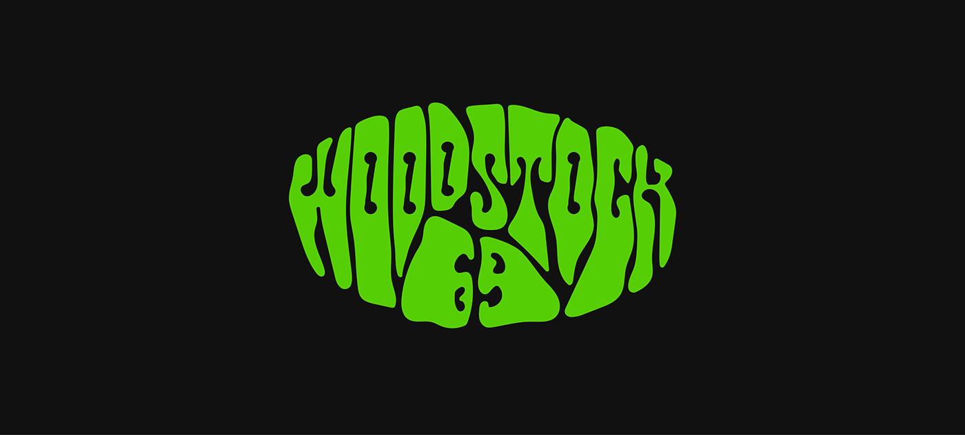 woodstock'69 collection box logo