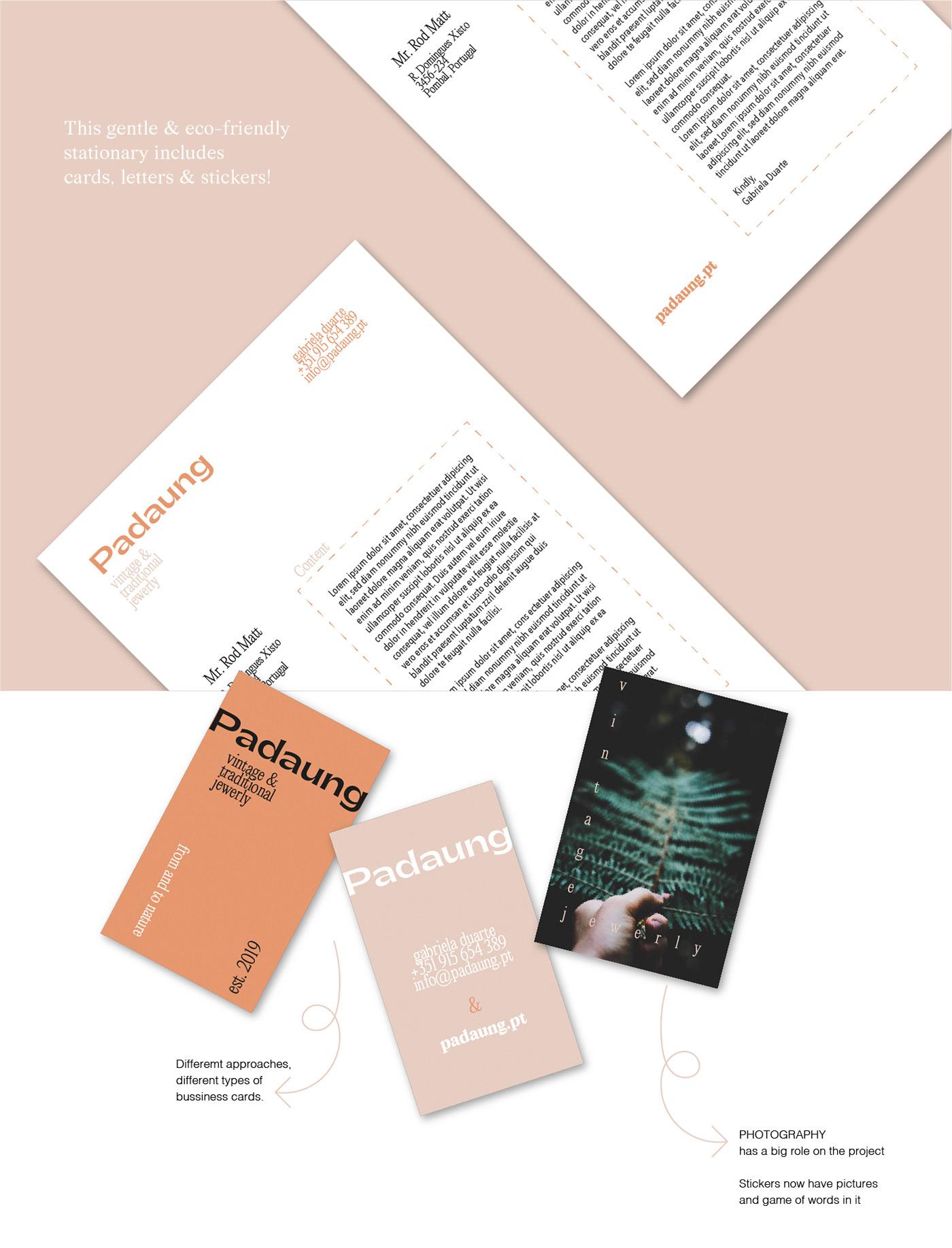 brand branding  jewerly Nature typography   visual identity