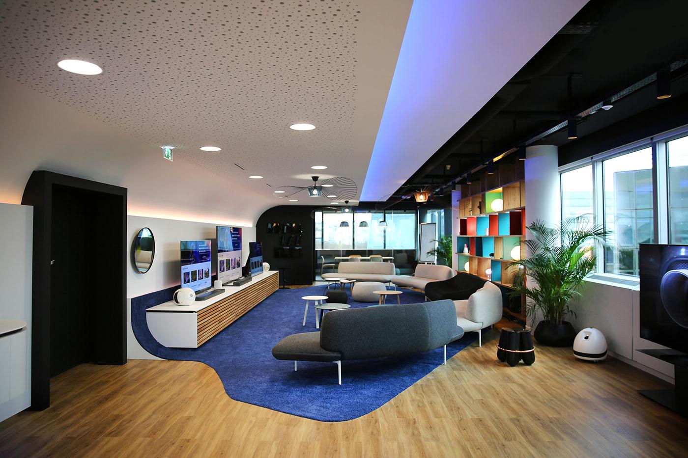 TF1 Space design design architecture Moderne