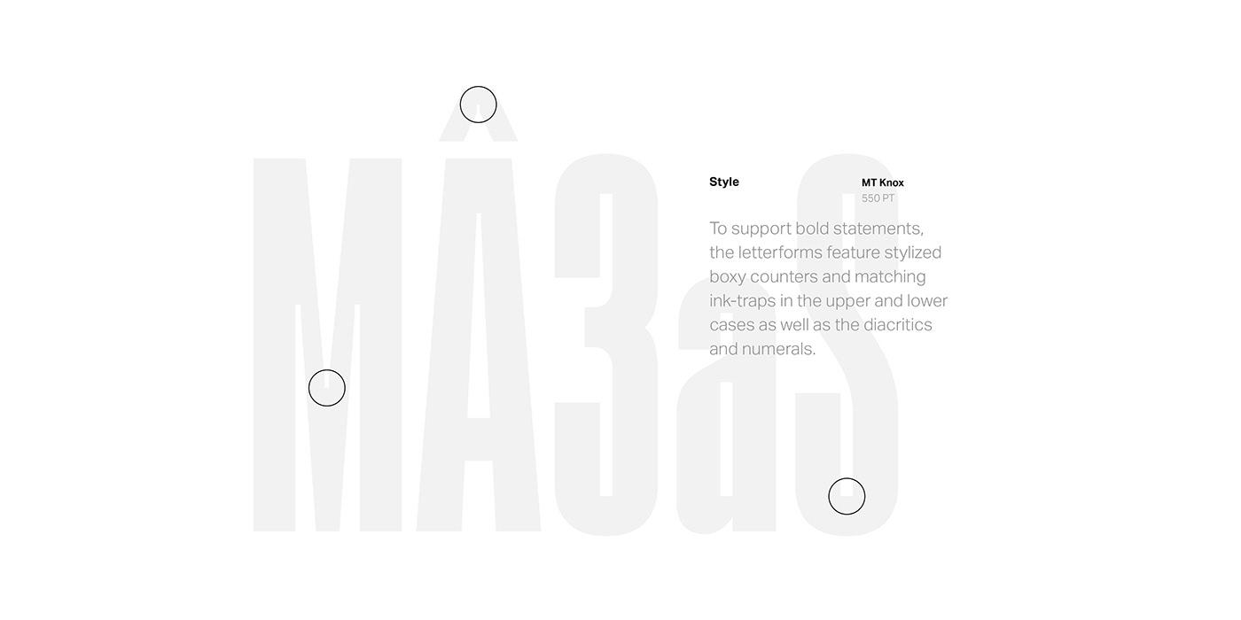 Typeface font typography   type design type editorial modern sans