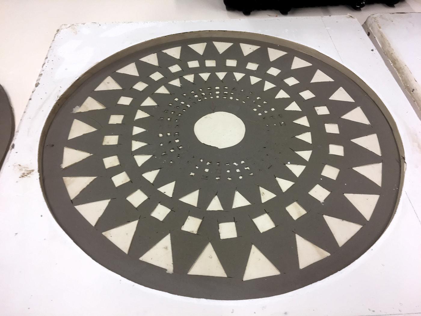 tile ceramic tile lowrelief tile wall art porcelain Harvard Ceramics Program