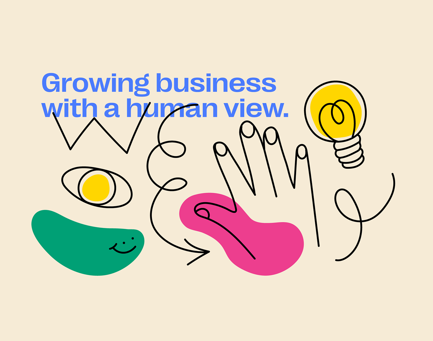 human Inclusive people humanism social agency business colaboration Ecommerce