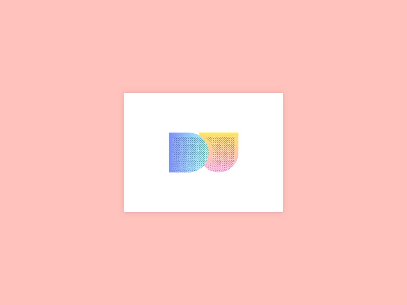 logo design daily ui minimal minimalist Icon ILLUSTRATION  graphic gradient Webdesign
