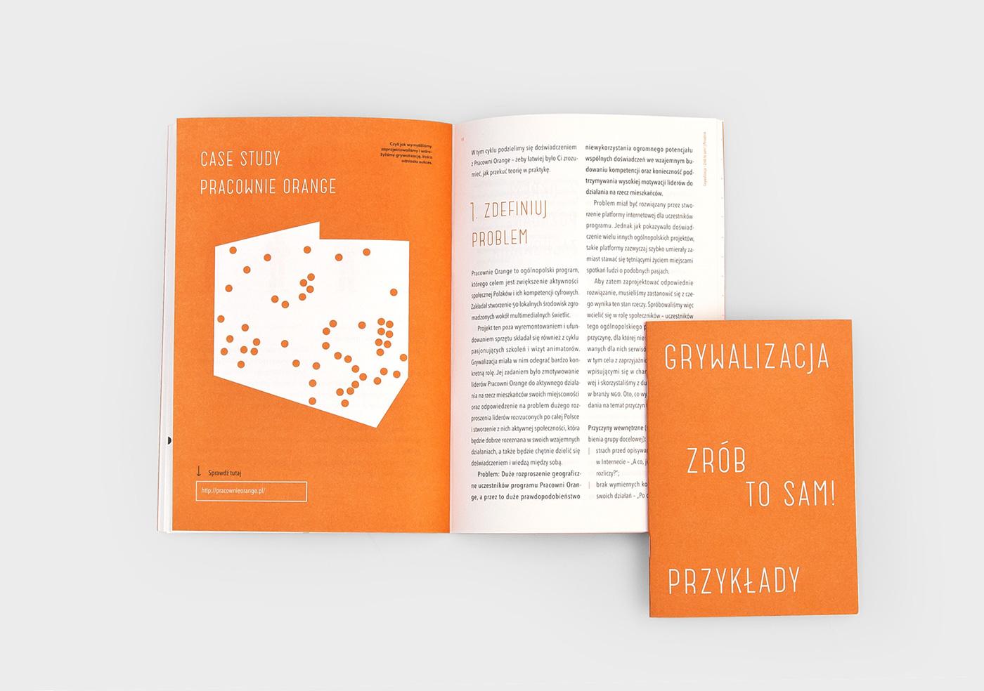 gamification DIY orange pantone