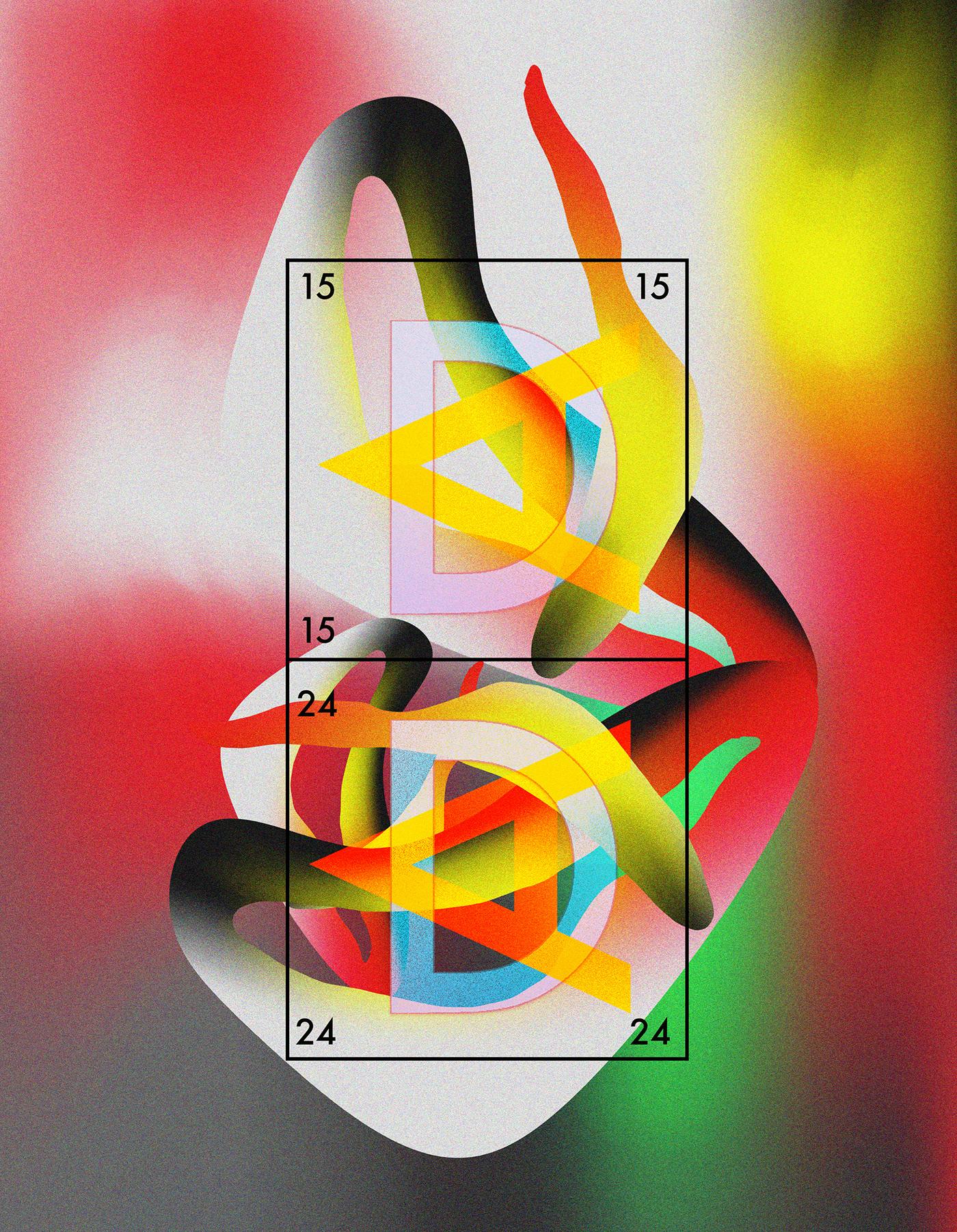 posters graphisme ILLUSTRATION  cinema 4d illlustrator photoshop Baugasm LHACENE skillshare