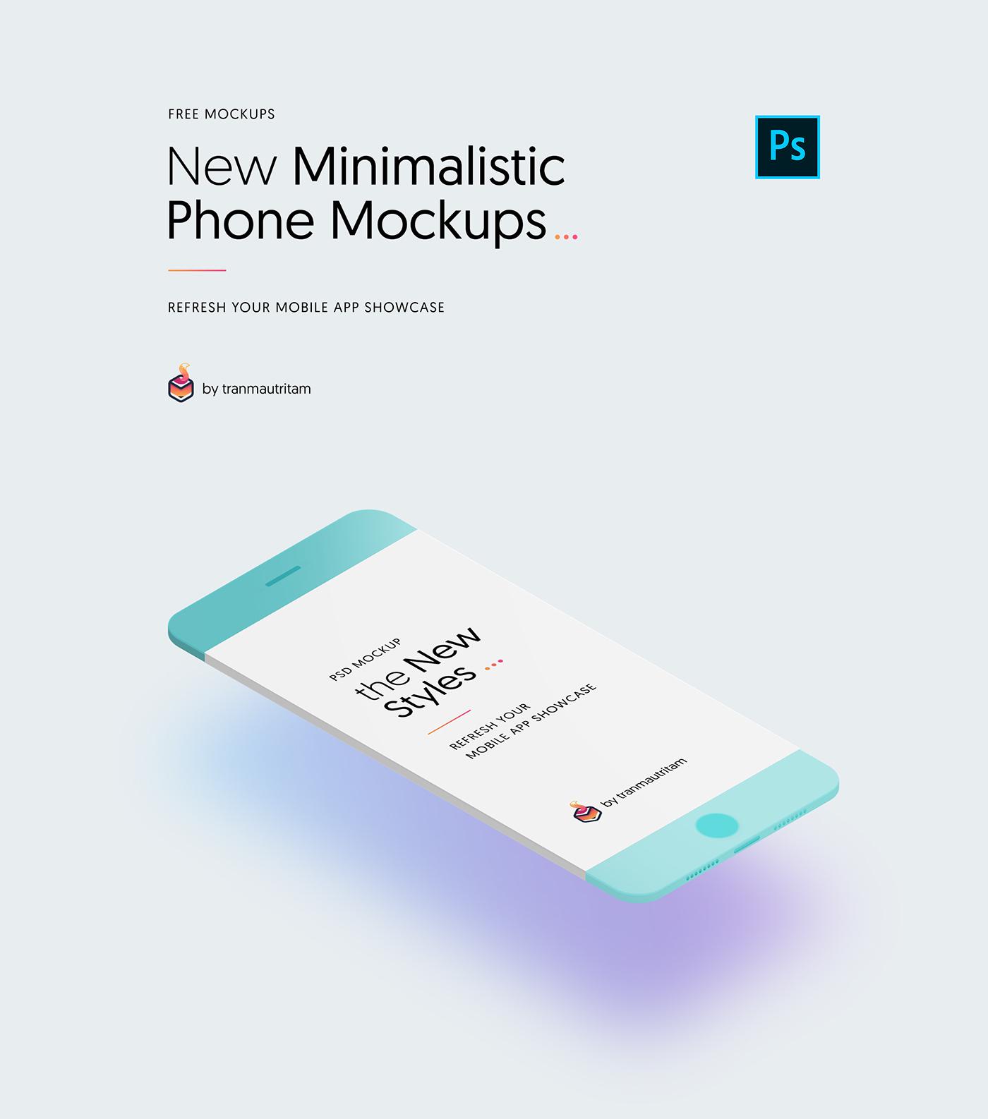 smart phone Mockup free free download iphone free mockup  mockups free iphone mockup UI minimal