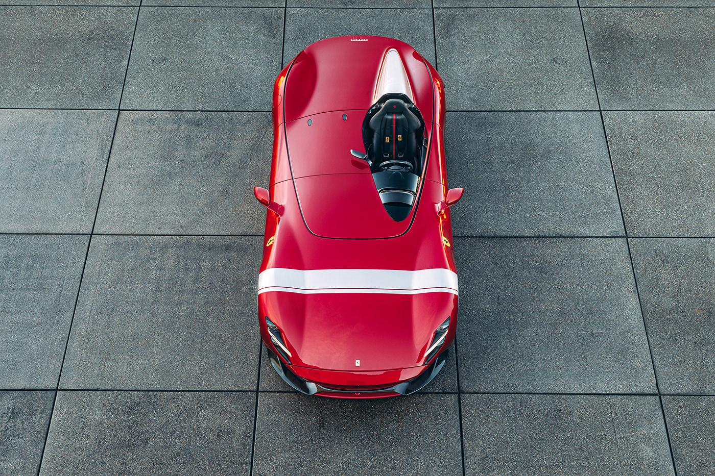 Automotive Photography FERRARI ferrari monza sp1 Keno Zache monza sp1