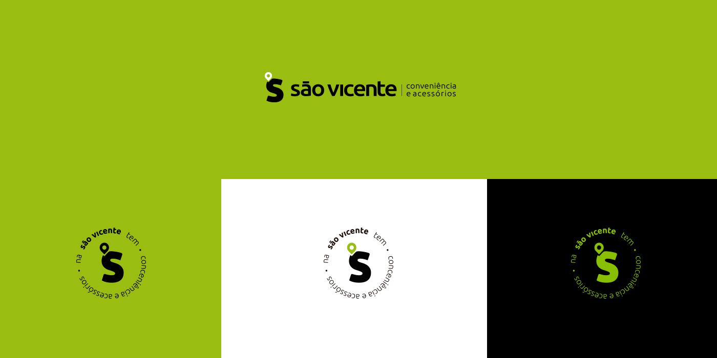 brand branding  conveniência identidadevisual letter logo Logotype mark smartphone Supermarket