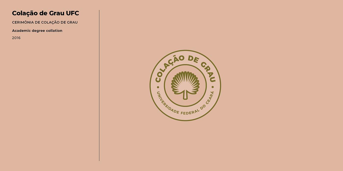 University brand Logomarca universidade faculdade course curso graduation graduação branding