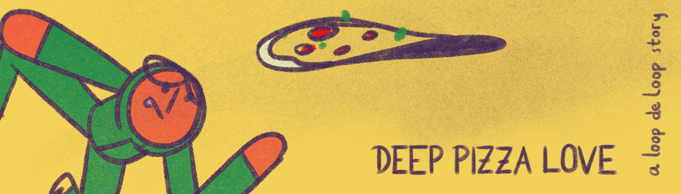 loopdeloop Pizza Cel Animation animation  loop