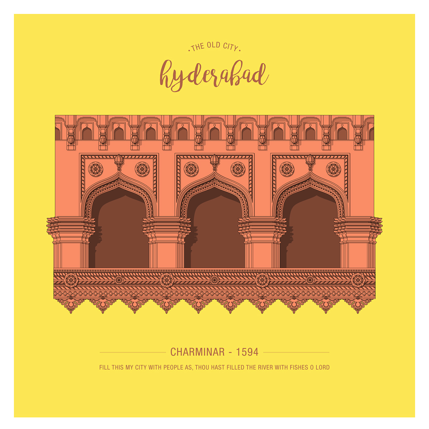 The Old City Of Hyderabad On Behance