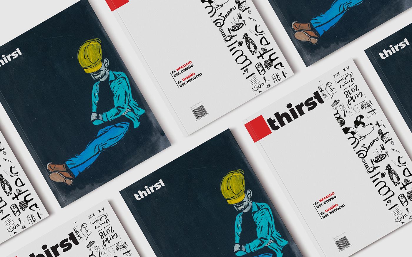 magazine the futur Chris Do thirst ILLUSTRATION  carbajal editorial