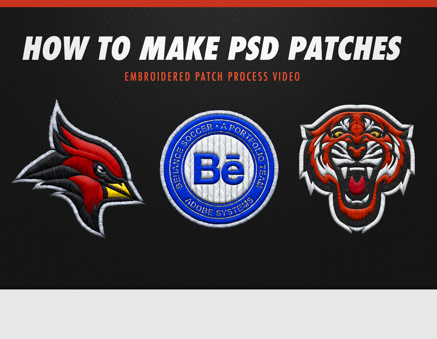 How To Make Psd Embroidered Patches Free Psd Assets On Behance