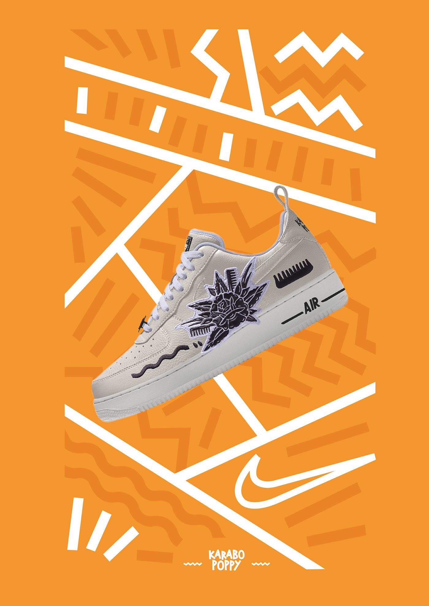 De este modo Monetario Malversar  Nike By You: Karabo Poppy campaign reimagined on Behance