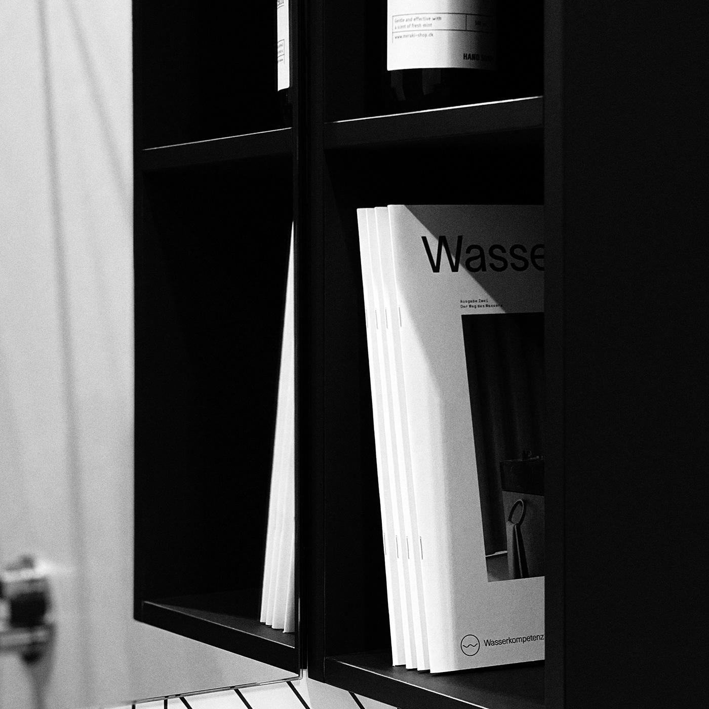 art direction  editorial design  Magazine Cover Magazine design minimalist modernist typographic