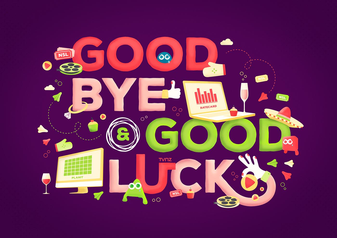 farewell illustration on behance