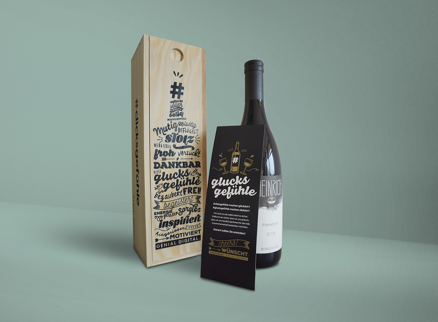Kundengeschenk Packaging weinbox