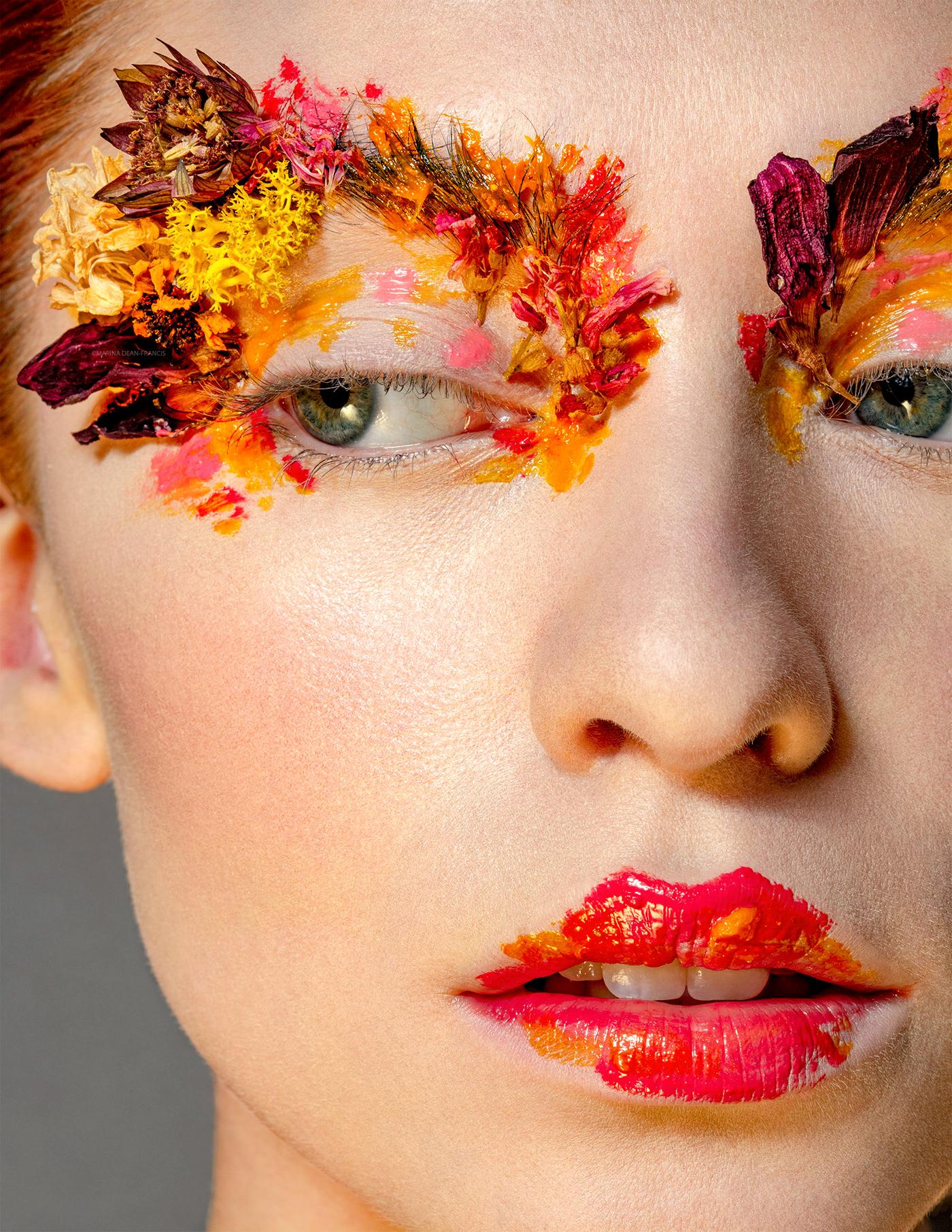 beauty beauty photo BEAUTY PHOTOGRAPHER beauty retouch beauty shoot creative makeup Marina Dean-francis retouching  retouching studio skin retouch