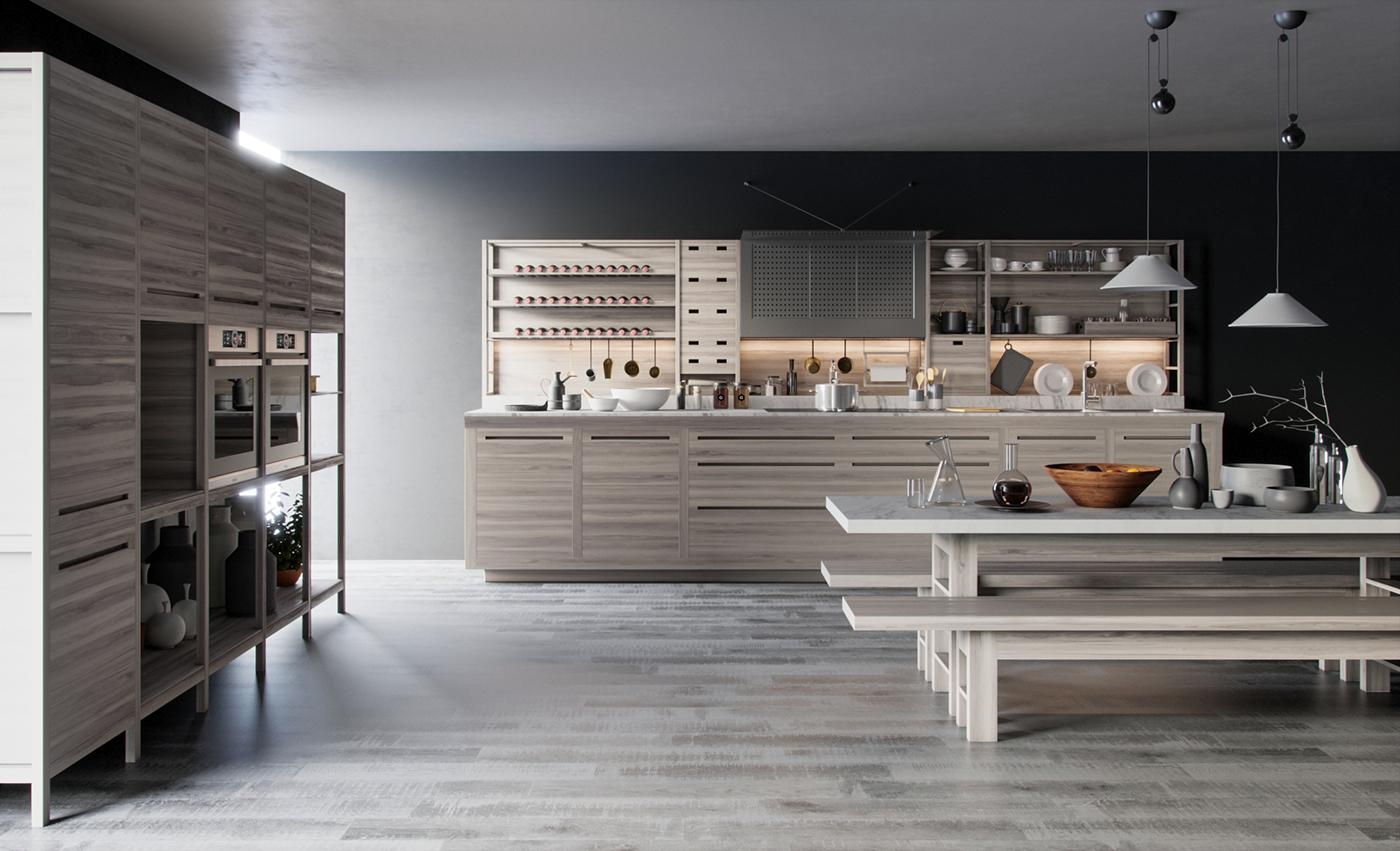 Valcucine Kitchen on Behance