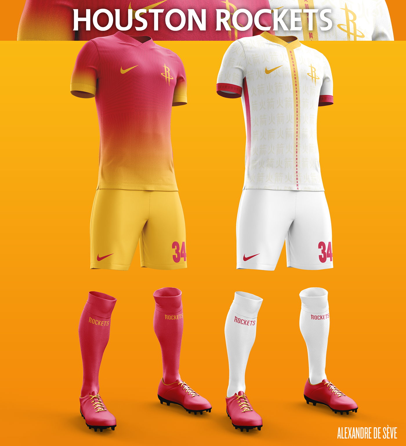 Talisman & Co. | Houston Rockets Soccer Concept Kit