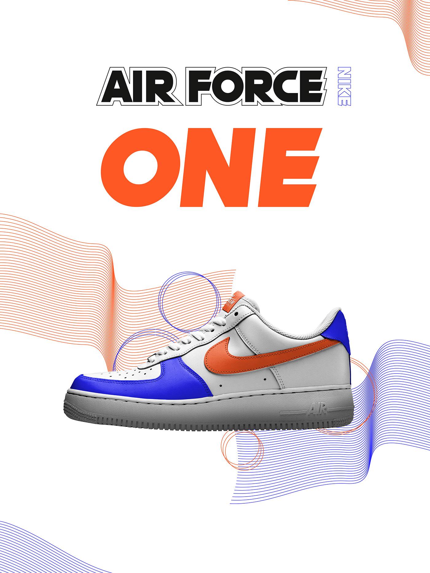 sneakers Nike design streetwear