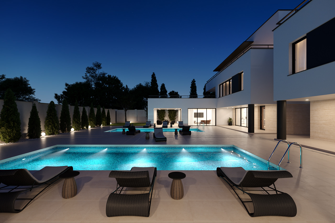 wh residence on behance