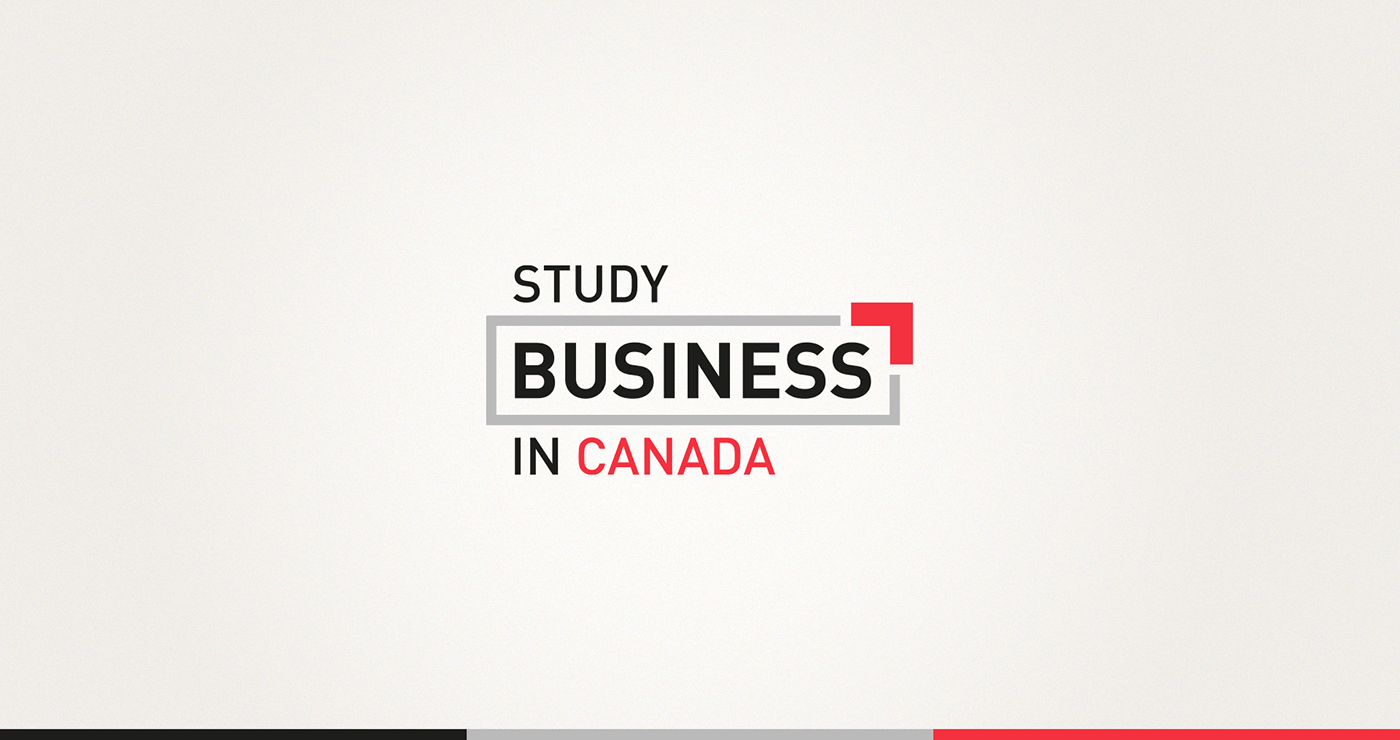 Study Business in Canada | Colors logo