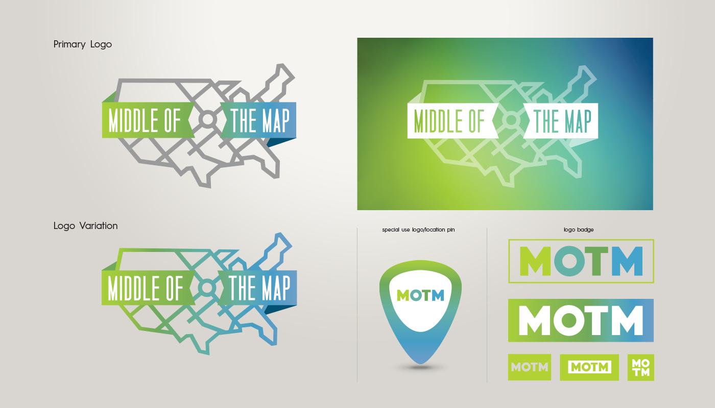 Adobe Portfolio kansas city festival design logo identity interactive MOTM Merch promotions party tech innovation KCMO bands forumn