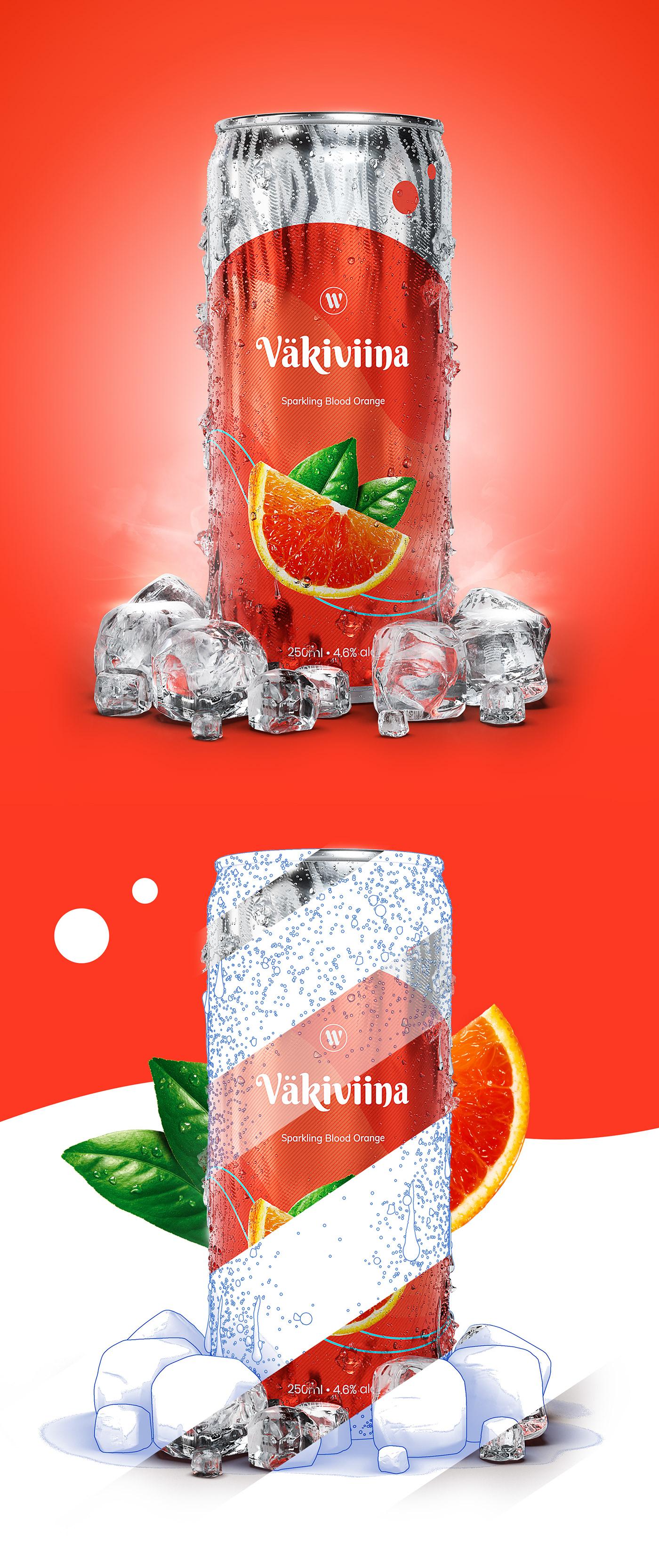 3D CGI alcohol beer beverage blender drink drinks can ice Liquid soft drink