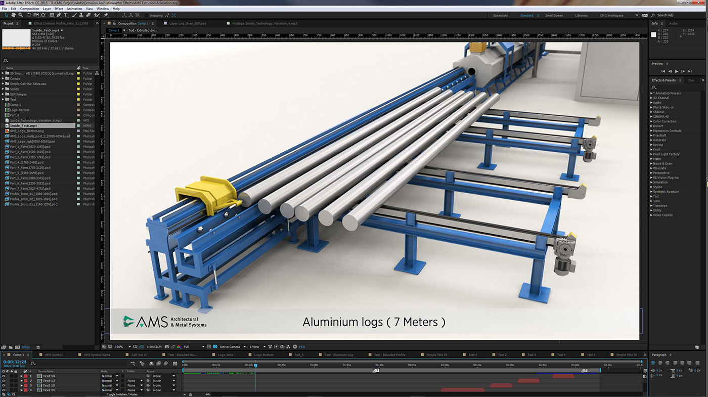 AMS - Extrusion Process Animation on Behance